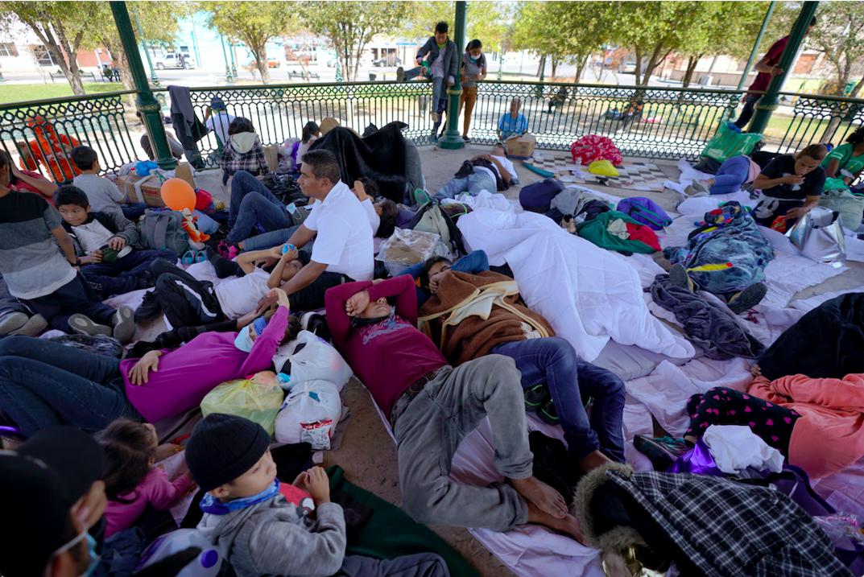 川普移民庇护政策被取消 拜登允许逾万移民入境_图1-1