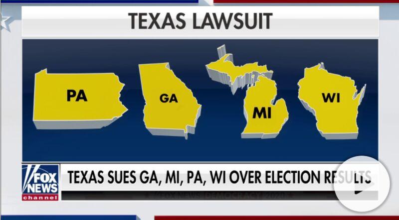 """华盛顿DC率23州反对德州等19州的违宪起诉, 这是要""""内战""""?"""