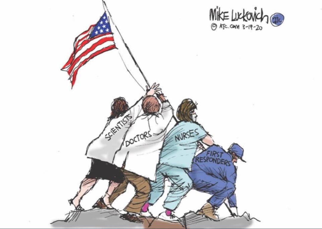 被美国搞砸的新冠疫情,将以美国的方式结束